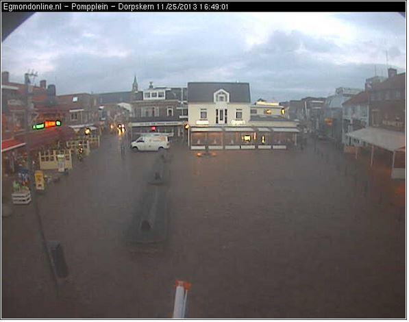 Live webcam van het Pompplein Egmond aan Zee